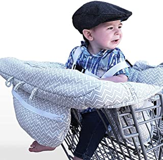 Y-step b/éb/é Housse de chariot de courses pour enfant 2/en 1/Housse de chaise haute Taille universelle