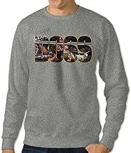 Xiying Men's Sasha Banks Boss Logo Fleeces Long Sleeve T Shirt