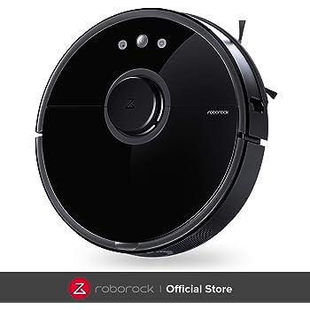 roborock S5 Robot Aspirador y Fregona, Robot Aspirador con Aspiración Potente de 2000Pa y Conectividad Wi-Fi, Navegación Inteligente y Batería con Capacidad de 5200mAh: Amazon.es: Hogar