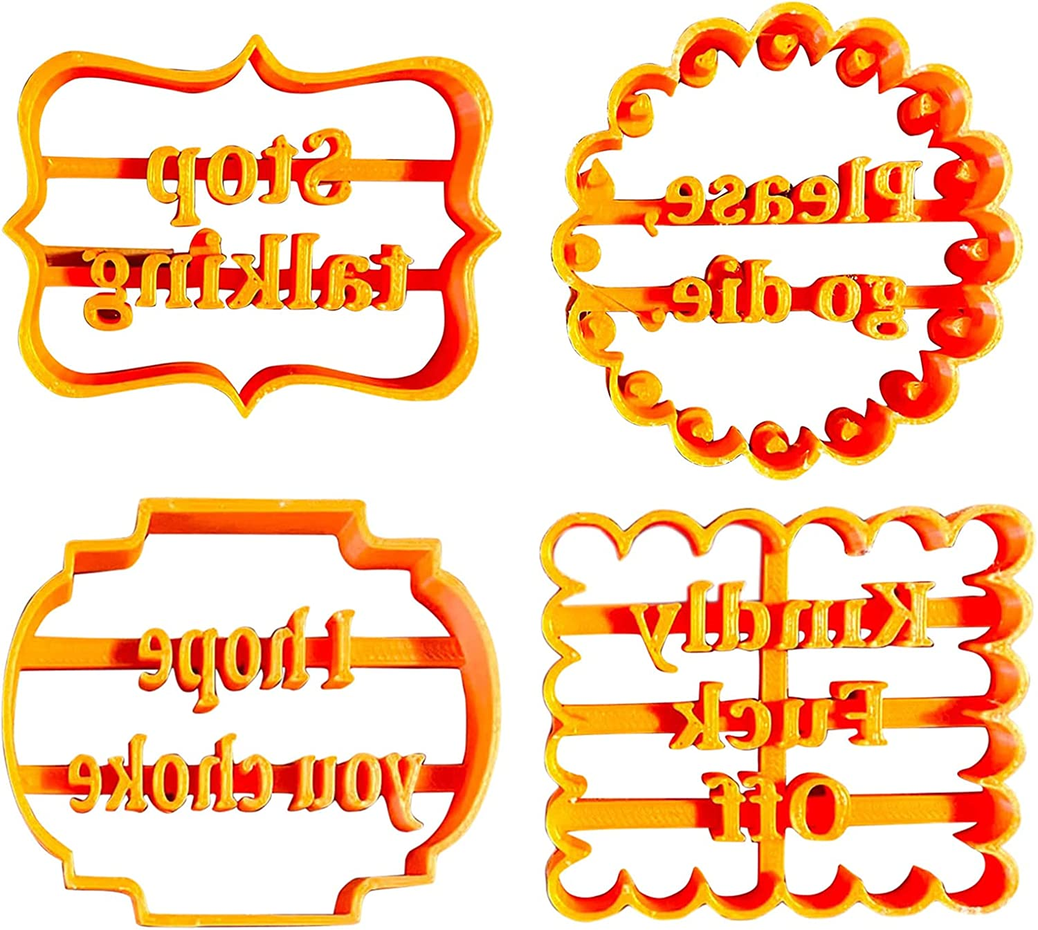 Cookie Molds 55% OFF Ranking TOP15 Biscuit Cutters With Word Form