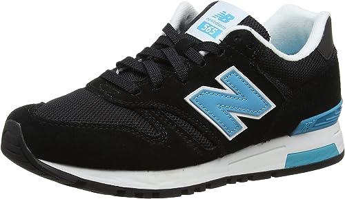 New Balance 565, Sneakers Basses Femme, Multicolore (Black ...