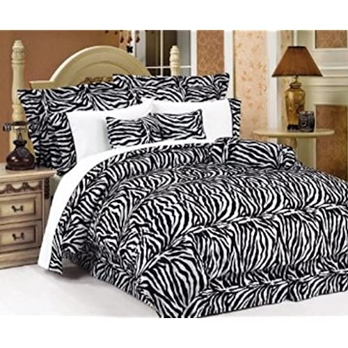 Zebra Print Comforter Sets: Amazon.com
