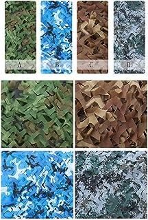 YXSDD Camouflage Net Jungle Camouflage Net Outdoor Sunscreen Sunscreen Field Field Decoration Shade Network Mountain Green...