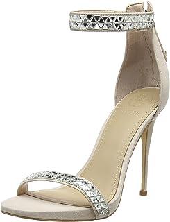Guess Thadde/Sandalo (Sandal)/Fabric, Escarpins bride cheville Femme