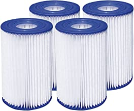 "Summer Waves 4.13""x8"" Type A/C Pool Filter Cartridge (4 Pack)"
