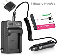 Kastar Battery and Charger for Sony DSC-T1 DSC-T3 DSC-T5 DSC-T9 DSC-T10 DSC-T700 DSC-T11 DSC-T33 DSC-L1 DSC-M1 DSC-M2 Camera and Sony NP-FT1 FT1