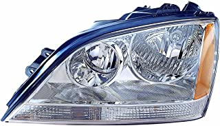 Depo 323-1113L-ASN1 Kia Sorento Driver Side Replacement Headlight Assembly