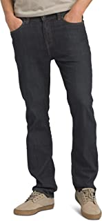 prAna - Men's Bridger Lightweight, Tapered, Durable, Stretch, Slim-Fit Jeans