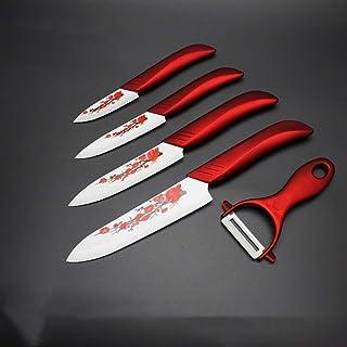 Couteau en céramique Couteaux de cuisine Set 3 4 5 6 pouces Peeler zircons blanc lame de fruits Couteau de chef Vege cuisi...