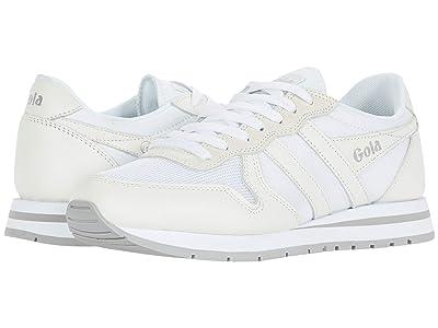 Gola Daytona Leather (White/White) Men