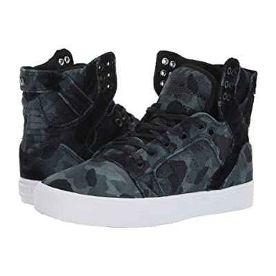 Supra Skytop (Black Camo/White) Women