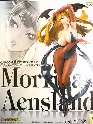 CAPCOM vorgefertigten DX Abbildung Glitzerfarbe Girls Collection Vol.1-Morrigan Ansurando Farbe 2P-Version. (Japan-Import)