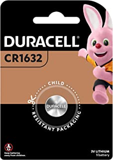 Duracell Specialty 1632 Lithium Coin 3V, 1 Pack (CR1620/DL1620)