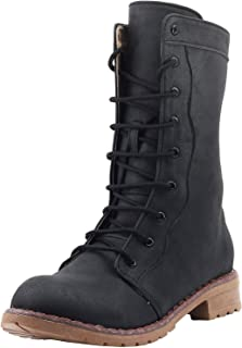 Shuberry Women's Synthetic Cowboy Boots