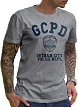 GCPD Gotham City Police Department Athletic Grey Mens T-Shirt | LeRage