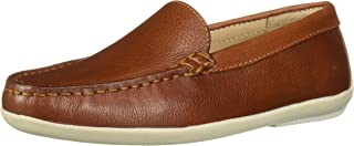 Driver Club USA Kids' Leather Made in Brazil San Diego 2.0 Venetian Driver Loafer