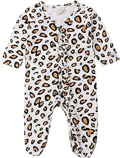 leopard print onesie baby