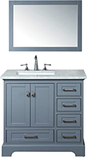 Stufurhome HD-7130G-36-CR Newport Single Sink Bathroom Vanity Set, 36