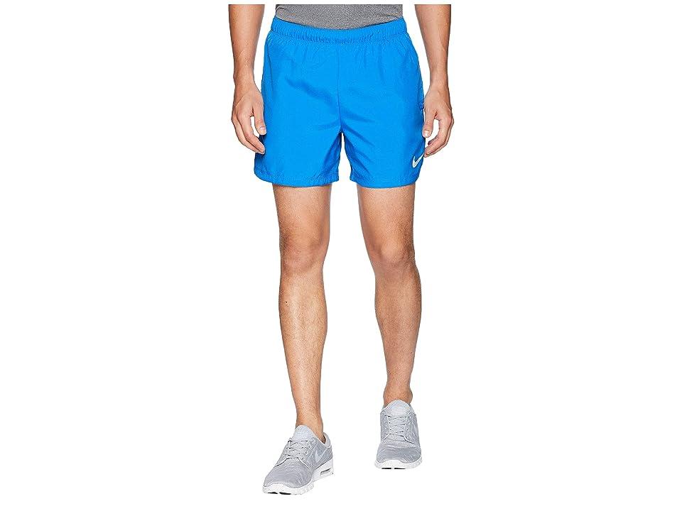 Nike Challenger 5 Running Short (Signal Blue/Signal Blue/Blue Void) Men