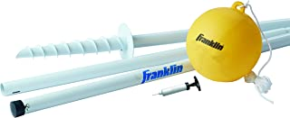 Franklin Sports Tetherball - Tetherball Ball, Rope and Pole Set - Portable Steel Tetherball Set with Easy Assembly - Class...