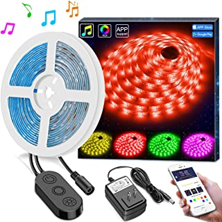 Best beat sync sound activated string lights Reviews