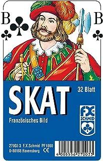Ravensburger 27003 3 Skat Spel Franska Bilder, 32 st