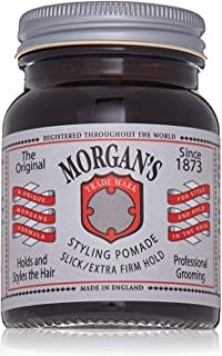 Morgan Styling Pomade with Slick and Extra Firm Hold, 0.22 Pound