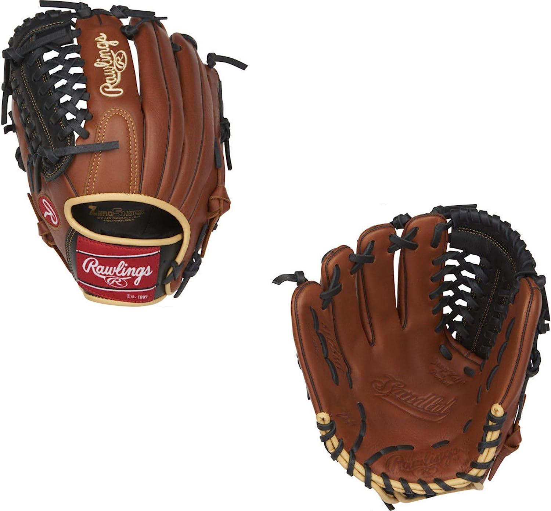 11-3//4 Rawlings Sandlot Series Leather Modified Trap-Eze Web Baseball Glove Right Hand Throw