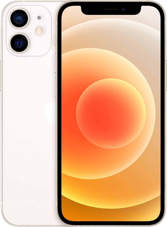 Apple iPhone 12 Mini, 128GB, White - Fully Unlocked (Renewed)