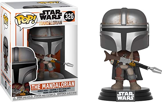 Funko Pop Star Wars The Mandalorian The Mandalorian DAMAGE BOX Figure Final