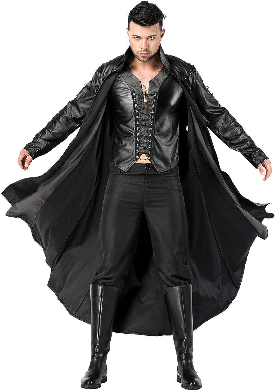 autentico en linea Lancoszp Lancoszp Lancoszp Disfraz de Vampiro para Hombre Traje de Hombres Musculosos Conjunto Completo  garantía de crédito