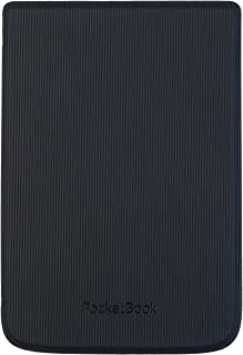 PocketBook Shell - Straight Lines Black - pasuje do Basic Lux 2, Touch HD 3, Touch Lux 4