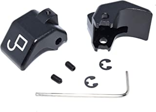 Billet aluminum convertible top latch rebuild kit for Mazda Miata (Anodized Black)