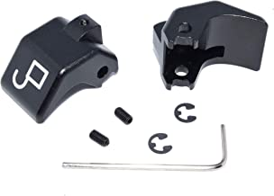 Billet aluminum convertible top latch rebuild kit for Mazda Miata (Anodized Black)