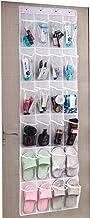 Amazon Brand – Umi Range Chaussures Gain de Place, Rangement Chaussures sur la Porte, Organiseur de Chaussures à Suspendr...