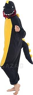 black dinosaur kigurumi