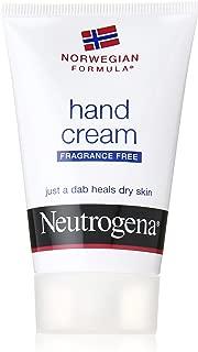 Neutrogena Norwegian Formula Moisturizing Hand Cream Formulated with Glycerin for Dry, Rough Hands, Fragrance-Free Intensive Hand Cream, 2 oz (Pack of 3)