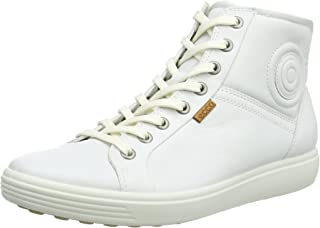 ECCO 女式软 VII 高帮时尚运动鞋