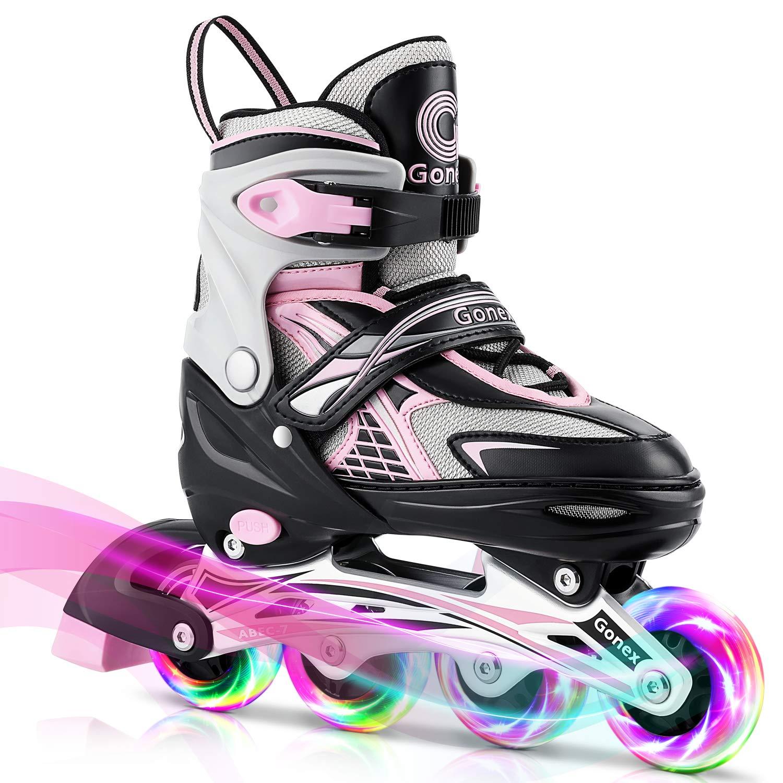 Gonex Adjustable Illuminating Outdoor Skating