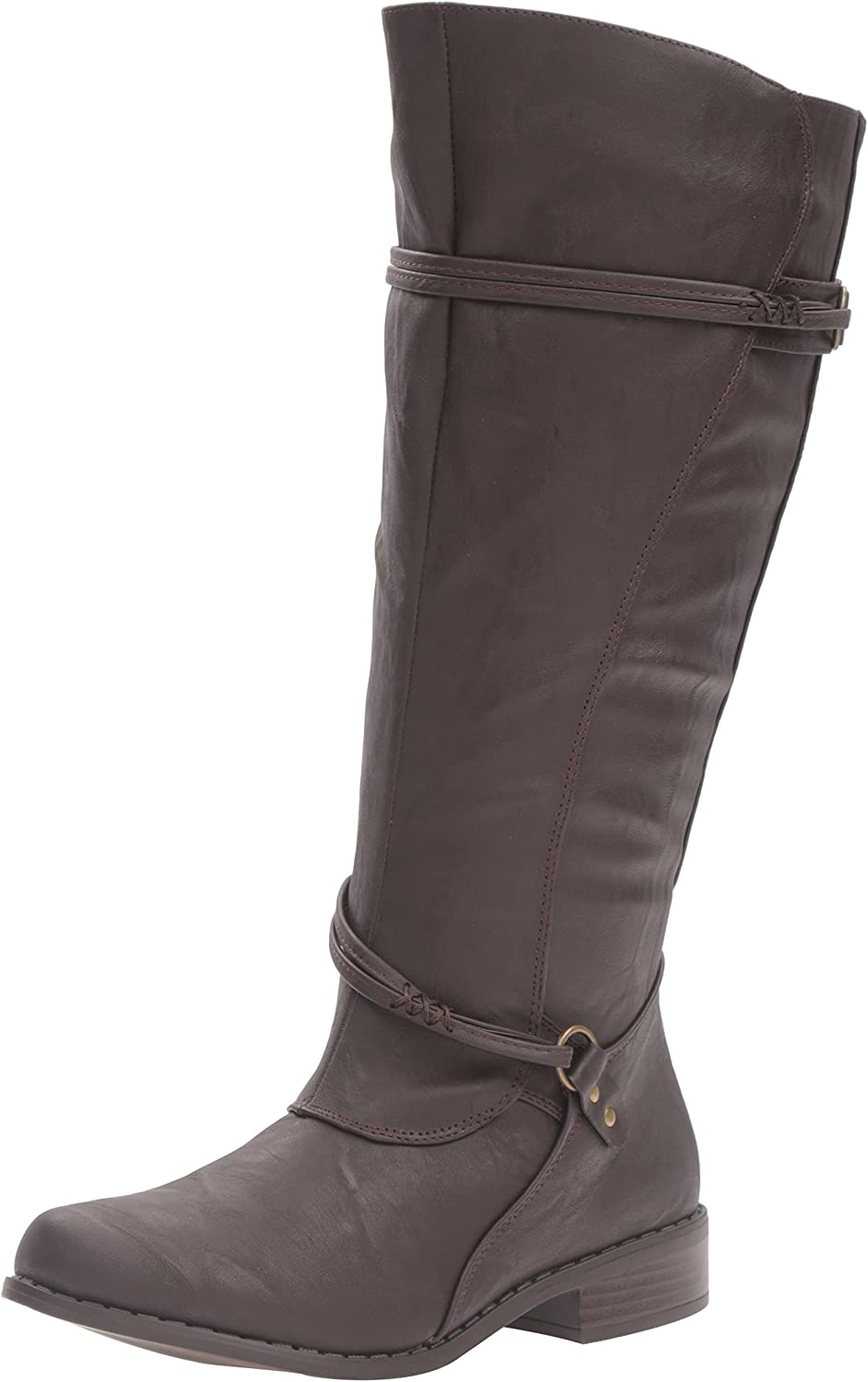 Brinley Co Womens Olive-xwc Riding Boot