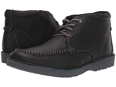 Clarks Vargo Apron (Black Leather) Men