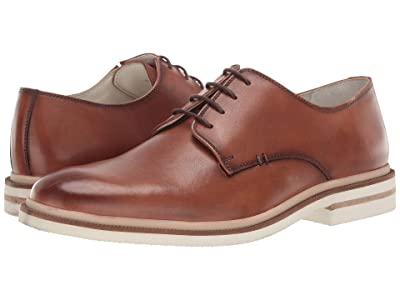 Kenneth Cole New York Vertical Lace-Up B (Cognac) Men