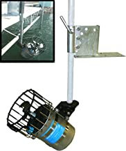 Kasco De-Icer + Universal Dock / Pier Mount - Includes 3/4 Hp Deicer w/ 50ft Cord & Dock Mount - Great for Deicing Lake, Pond, Marina, Dock, Pier - Model# 3400D50