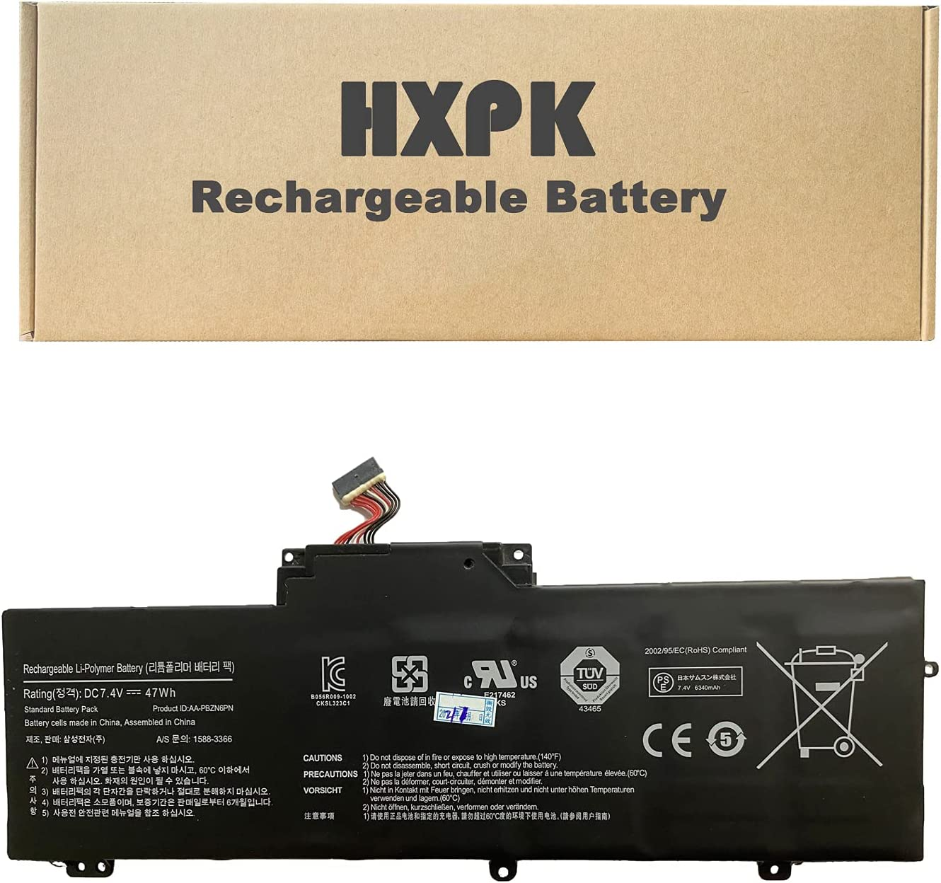 HXPK AA-PBZN6PN Laptop Battery Max 56% OFF low-pricing for Samsung NP350U2A-A 350U2B-A05