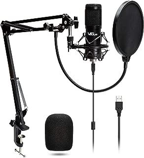 USB Microphone Kit 192KHZ/24BIT Plug & Play VG016...