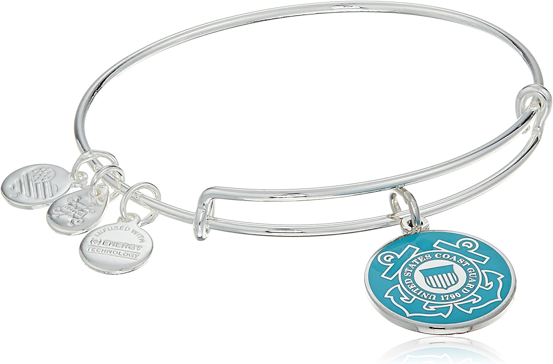 Coast Guard Bracelet Military Mom Military Jewelry Soldier Bracelet Adjustable Bangle Coast Guard Bracelet Military Bracelet
