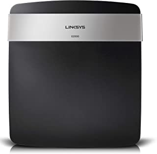 Linksys E2500 Dual-Band WiFi Router (N600, Wireless-N Router)