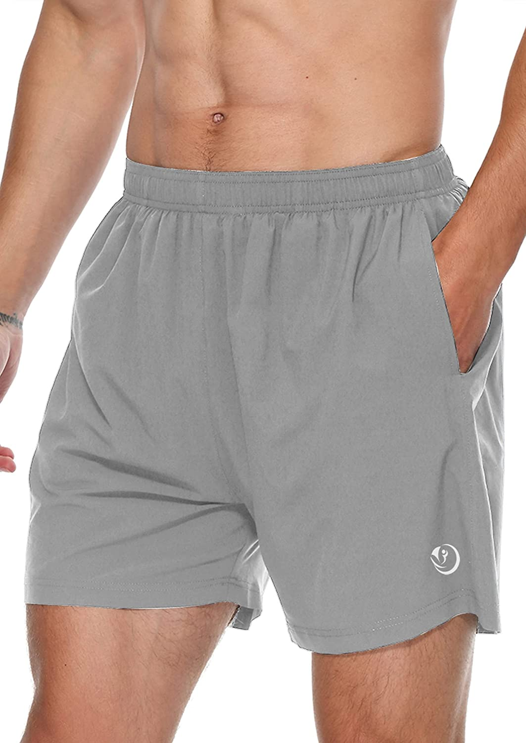 Relaude Fitness Credence Men's Running Shorts NEW before selling Athletic Workout 5 Gym Inch