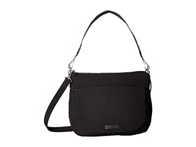 Vera Bradley Carson Shoulder Bag (Classic Black) Shoulder Handbags