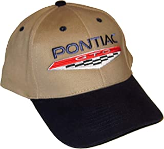 Pontiac GTO Men's Hat with 6.5 Litre Logo